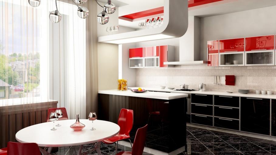 Кухонное помещение 01