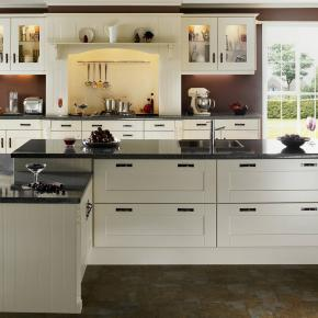 Оформление стен в кухнях